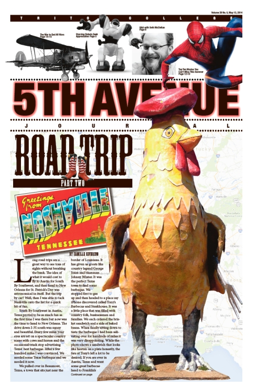 5th Ave Joural Cover MAY 2014