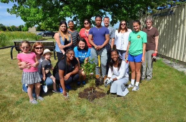 2016-July 13 Tree Planting